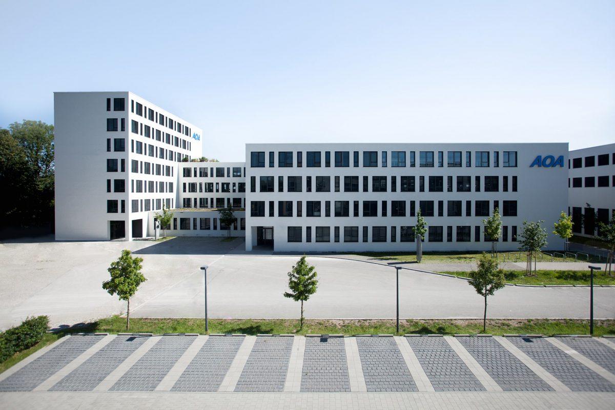AO40 Entwicklungs-, Produktions- und Verwaltungsgebäude