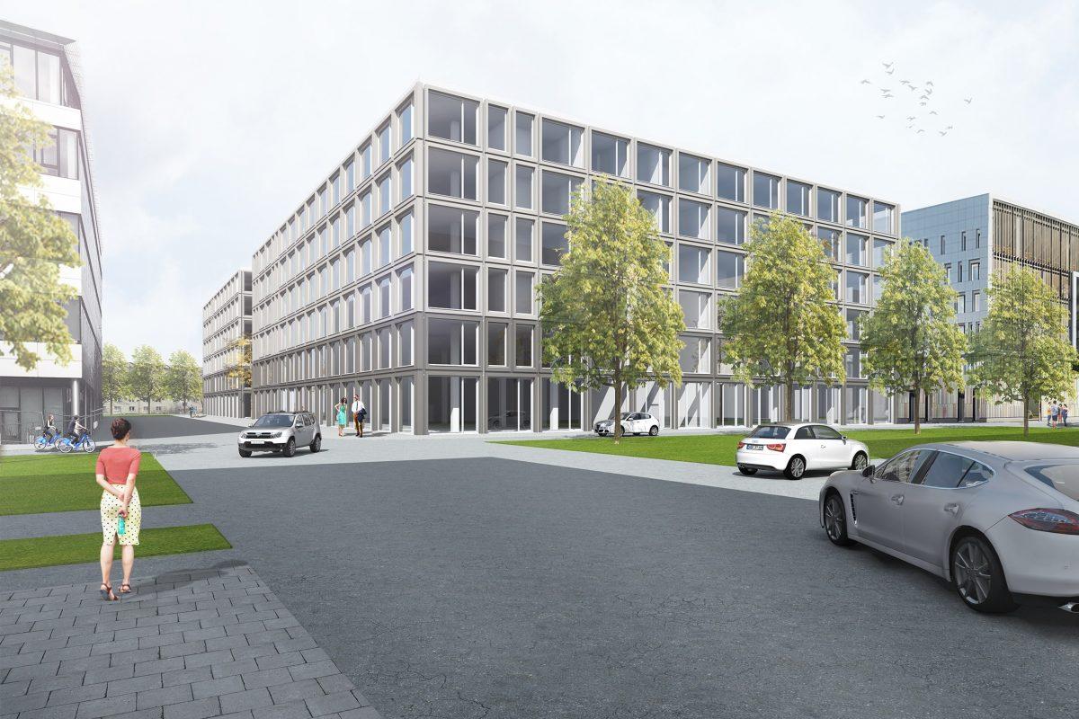 DL11 Klinik- und Verwaltungsgebäude