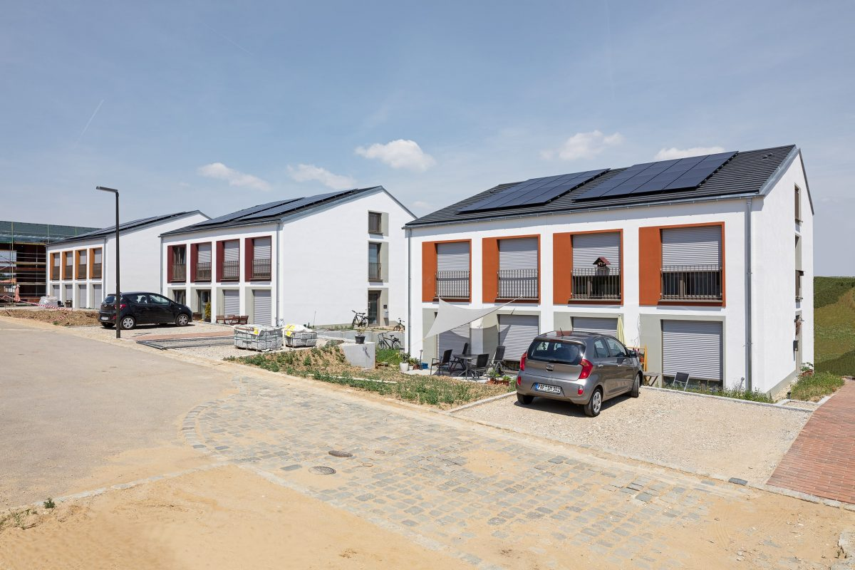 EQ92 Doppelhäuser, ecoQuartier