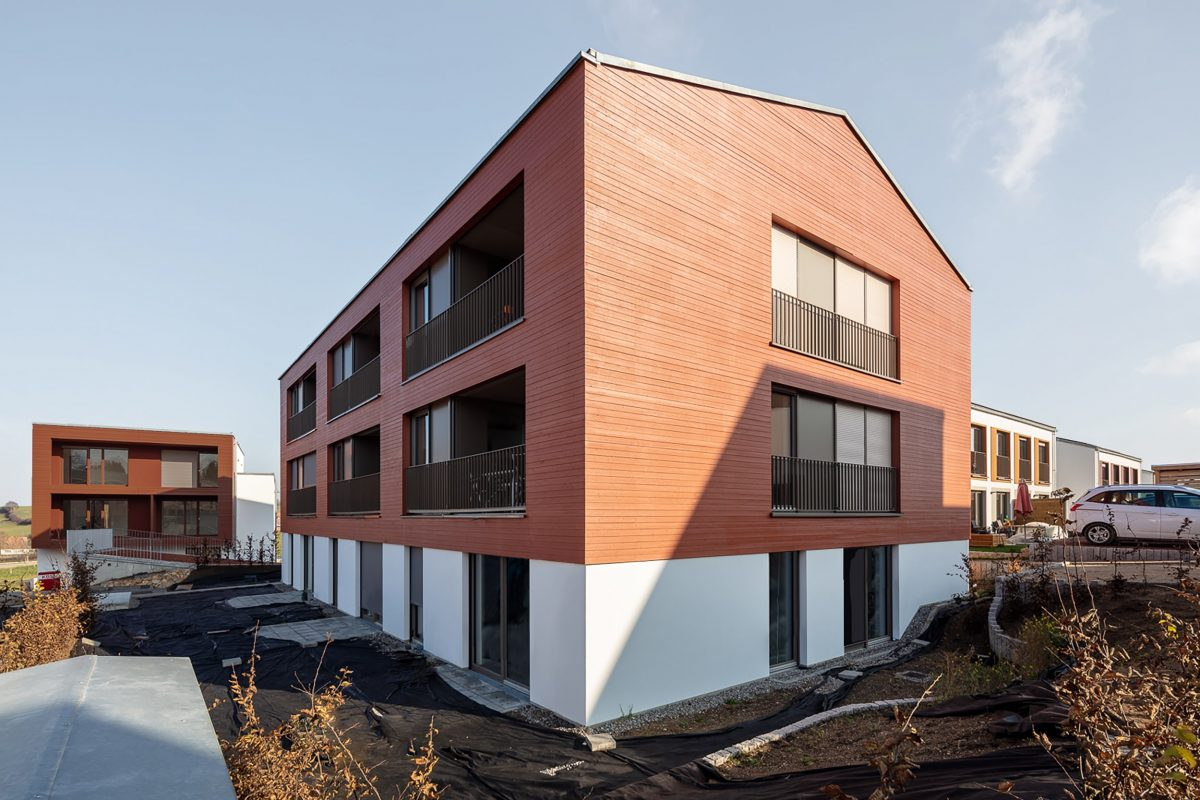 EQ90 Mehrfamilienhaus, ecoQuartier