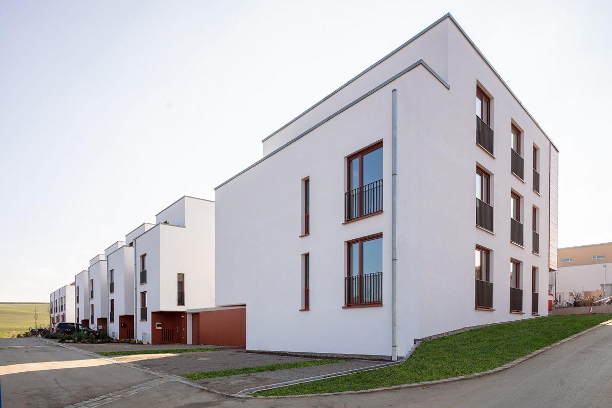 EQ91 Mehrfamilienhaus und Kettenhäuser, ecoQuartier