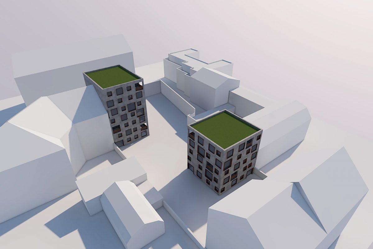 MX38 Mehrfamilienhäuser