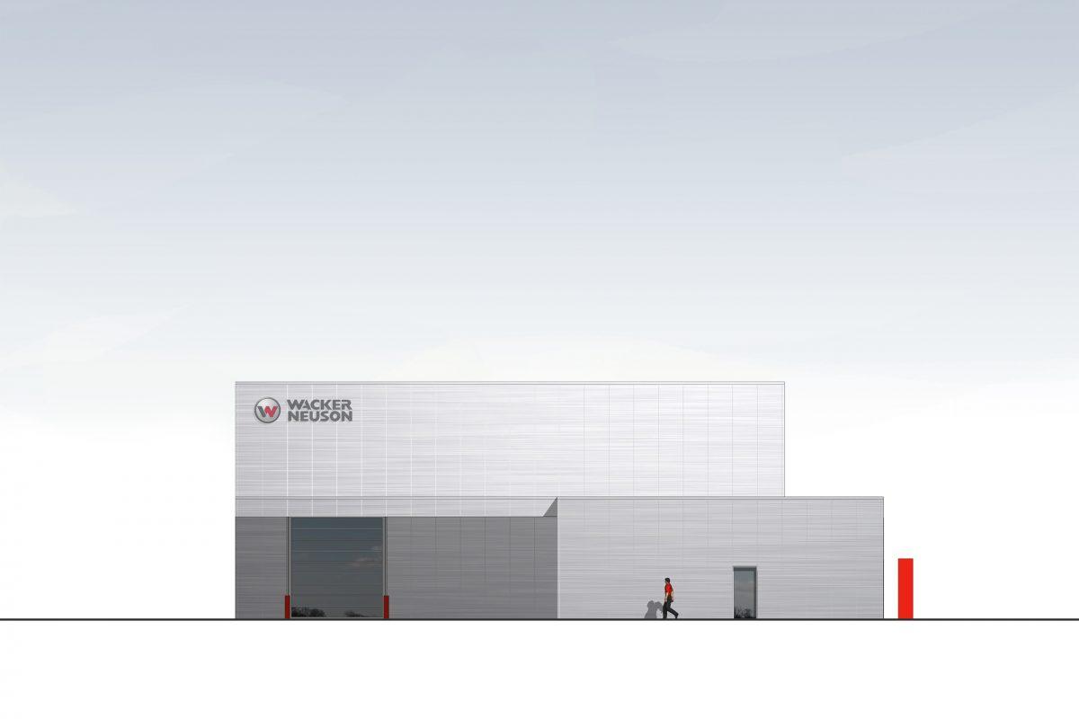 WN12 Verkaufs- und Servicestation